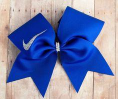 Royal Blue Cheer Bow- Bows for Cheer Teams- large cheer bows- competition cheer bows - cheer bows - gifts under 10 Cute Cheer Bows, Cheer Mom, Cheer Stuff, Team Cheer, Cheer Tryouts, Cheer Hair Bows, Softball Bows, Cheerleading Bows, Softball Catcher