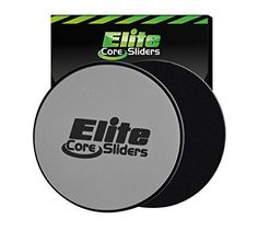 Core Sliders - Set of 2 Exercise Sliding Gliding Discs - Great for Crossfit, Cross Training, Abdominal Workout Routines - Dual Sided Design Works on Carpet or Hard Floors - Silver Elite sportz equipment http://www.amazon.com/dp/B00OYRW4UE/ref=cm_sw_r_pi_dp_xrcaxb1BEAN17