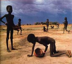 I wish with all my heart that no child would die of starvation