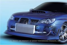Greddy Subaru WRX / STI 2002-07 13row Oil Cooler Kit