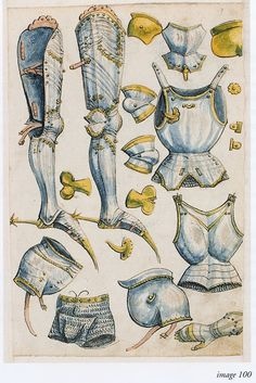 Thun Sketchbook Helmschmied ca 1475-1520