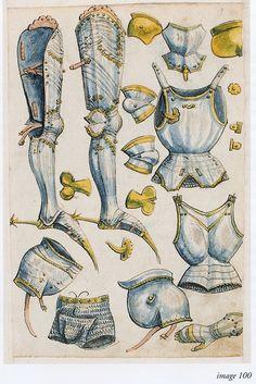 Thun Sketchbook Helmschmied ca 1475-1520