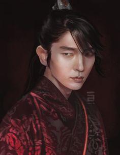 Scarlet Heart Ryeo: Wang So (Lee Joon Gi) Painting by adelair.deviantart.com on @DeviantArt