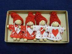 Scandinavian Swedish Christmas Ornaments 4 Girls | eBay