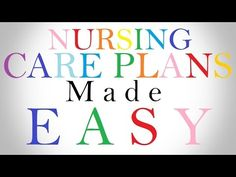 Beating The Fear Of Nursing Care Plans  Nursing Care Plan