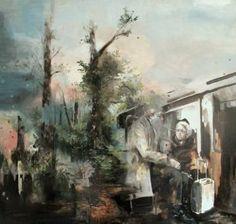 "Saatchi Art Artist Magdalena Lamri; Painting, ""The Precious Things"" #art"