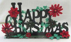 Tinyrose's Craft Room: Creative Artiste December Sponsor Scrapmatts Creative Expressions MDF Happy Christmas