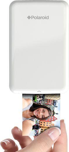Polaroid - ZIP Mobile Printer - White - AlternateView13 Zoom