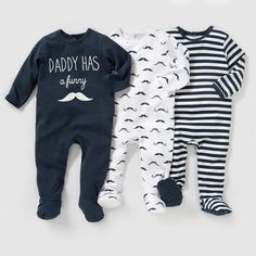 Compre Pijama, algodão interlock (lote de 3) 0 meses-3 anos Recém-nascido na La Redoute. O melhor da moda online.