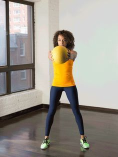 3. Standing Stabilization #standing #abs #workout http://greatist.com/move/abs-workout-best-abs-exercises-you-can-do-standing-up