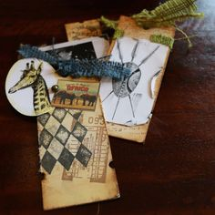 Mixed Media Tags - Serengeti - 7gypsies