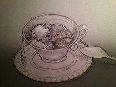 New beautiful sketches by Chiara Bautista
