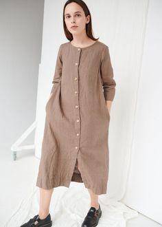 ELENA DRESS - Linenfox
