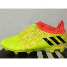 new product ffd83 38804 Barato Adidas Messi 16 Pureagility FG AG Yellwo Naranja Botas De Futbol