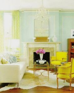 love the colors... and don't miss the rug!
