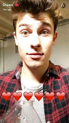Shawn's snapchat
