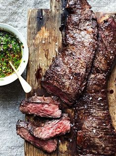 How to grill a strip steak perfectly. And 5 fabulous recipes to really make it sizzle #easy #dinner #steak