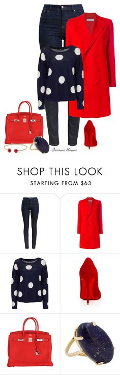 """Simply Chic"" by quianashinae on Polyvore featuring Barbour, Givenchy, Christian Louboutin, Hermès and David Yurman"