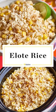 Recipe: Slow Cooker Elote Rice | Kitchn