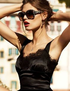 Leopard Sunglasses by Dolce & Gabbana #fashion #style