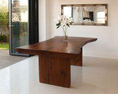 Suar Hardwood Dining Table - Solid Wood Furniture - Puji Table