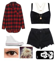 """""""Super simple outfit"""" by aranza-montoya on Polyvore featuring moda, Madewell, Dolce&Gabbana, T By Alexander Wang, Converse, Forever 21, women's clothing, women's fashion, women y female"""