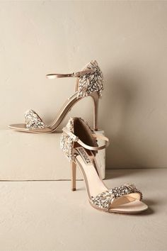 Find nude   strappy low wedding heels fit for a bride b9da36e3bc57