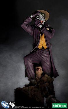 Joker The Killing Joke DC Comics ArtFX Statue from Kotobukiya | Comic Book Statues and Busts
