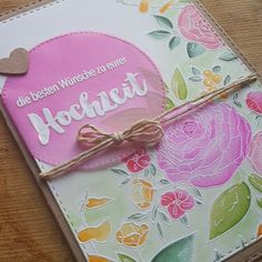 Beautiful Bouquet, WPlus9, Cardmaking, Cards
