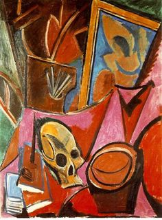 Pablo Picasso, Composition With A Skull [Composition à la tête de mort], Paris, late spring, 1908