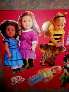 Silver Linings~ American Girl Tutorial Paper Dolls