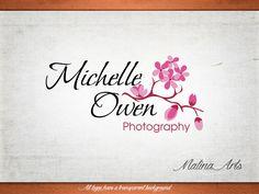 Photography logo design and watermark. Flowers logo. Custom logo BUY 2 and GET 1 FREE!!! (13.00 USD) by MalinaPhotoLogos