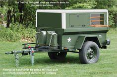 M416 Jeep camp trailer idea