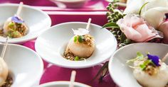 Lichia recheada com mousse de gorgonzola; do Buffet Vivi Barros (www.buffetvivibarros.com.br)