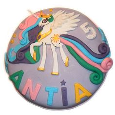 Tarta fondant My Little Pony