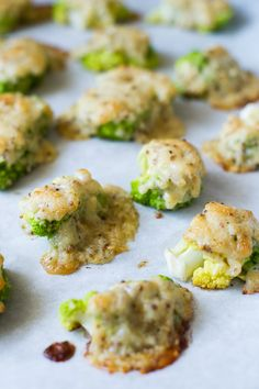 "Baked ""Frosted"" Cauliflower Recipe with Cheese. It's a great vegetable side dish. 