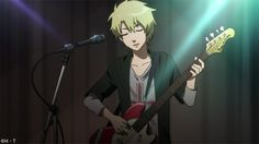 Yamato from Digimon Adventure Tri is December 14, 2015 Man Crush Monday. Yamato is in a band. Does he do it to catch Taichi's attention?