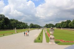 Garden of Nymphenburg Palace or Nymph's Castle in Munich.   Such a great place to have a walk on nice summer day.
