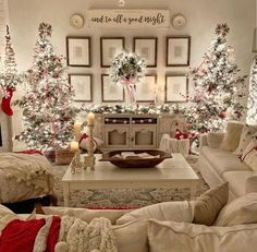 Design Your Spaces ( design_your_spaces ) - Love this beautiful farmhouse Christmas 🎄 decor! What do you think of the double Christmas tree? I love this look but my only concern is where are the p Enjoy my festive buffalo check Christmas Home Tour, com