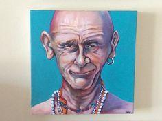 Slap head  Oil on canvas