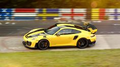 Porsche set a new record for road-approved sports cars on the Nurburgring Nordschleife in the 911 GT2 RS on September 20.
