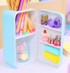 Cool School Supplies, Kawaii Diy, Kawaii Crafts, Study Room Decor, Cute Stationary, Miniature Crafts, Diy Candles, Room Organization, Art Supplies