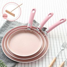 Inch Grill Pans Non Stick No Smoke Medical Stone Easy Cleaning Household Kitchen Cookware Frying Pan Pancake Pan, Pancake Maker, Griddle Grill, Grill Pan, Crepe Pan, Gadgets, Cooking Pumpkin, Ali Express, Breakfast Cake