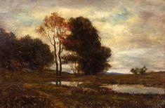Phillips Academy - Addison Gallery of American Art - Homer Dodge Martin, Landscape near Mahopac, New York