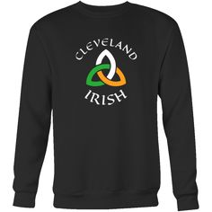 "Saint Patrick's Day - "" Cleveland Irish Parade "" - custom made funny apparel.-T-shirt-Teelime | shirts-hoodies-mugs"