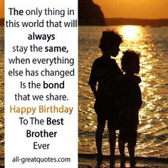Happy Birthday Wishes For Younger Brother From Sister Happy