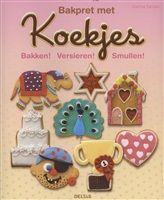Bakpret met koekjes  Bakken! Versieren! Smullen! De leukste koekjes voor elke gelegenheid! Koekjes bakken was nog nooit zo leuk.  http://www.bruna.nl/boeken/bakpret-met-koekjes-9789044734027