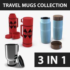 Travel Mugs Max - 3D Model