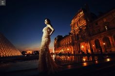 #prewedding #overseas #indraleonardi #golden #gown #inspiration