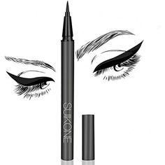 Eyeliner,Waterproof SweatresistantSmudge-proof Big eyes Long Lasting Liquid Eyeliner, Continuously Flow Black (1) >>> Find out more about the great product at the image link. (This is an affiliate link) #Eyeliner